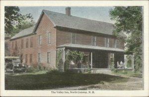 North Conway NH The Valley Inn & Car c1915 Postcard