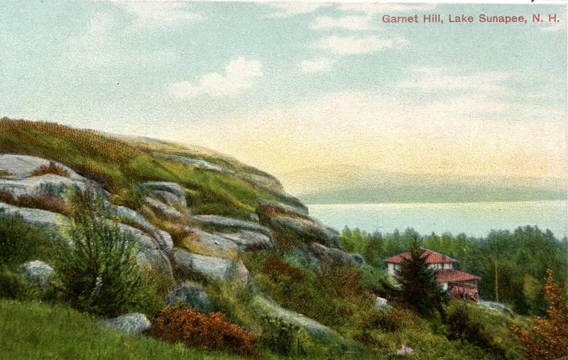 NH - Lake Sunapee. Garnet Hill.