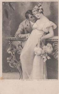 The Love Rival Rivals Rivalry Jealousy Adultery Antique Postcard