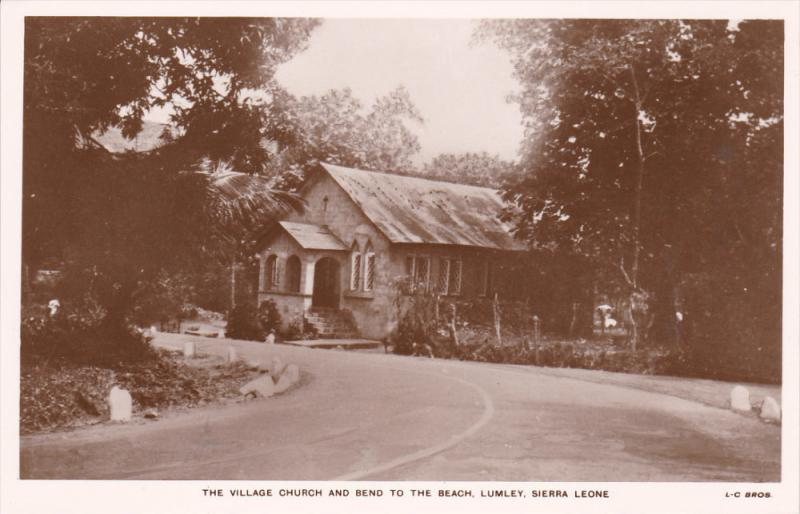 RP, The Village Church And Bend To The Beach, LUMLEY, SIERRA LEONE, 1920-1940s
