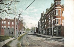 Lestershire Main Street East Early View Leighton New York VTG P96
