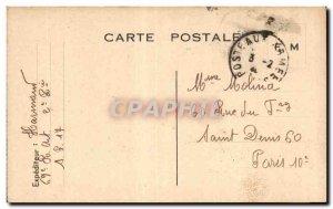 Old Postcard Map Franchise Military Molina Paris