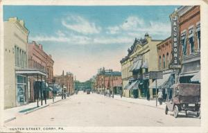 Jacobson's Clothing on Center Street Corry Erie County PA Pennsylvania pm 1921
