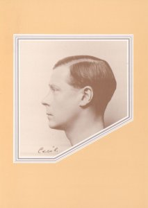 King Edward VIII Hugh Cecil Photograph Stamp Exhibition Postcard