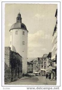 Siegen, Germany, PU 1956 Schlossturm mit Kolner Strasse