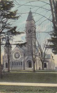Methodist Church - Le Roy Genesee County New York - pm 1912