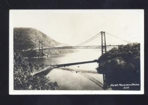 RPPC ROCKLAND NEW YORK WESTCHESTER BEAR MOUNTAIN BRIDGE REAL