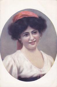Jeune Napolitaine Girl , Napoli , Italy , 00-10s : Artist X. SAGER