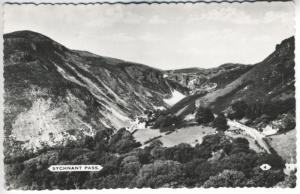 Llanberis Pass and Lakes Snowdonia Wales Real Photo Postcard D8