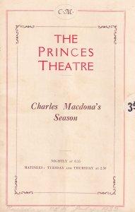 Charles Macdona Diplomacy Gerald Du Maurier Theatre Programme