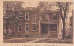 New York Canandaigua Y M C A Building Albertype
