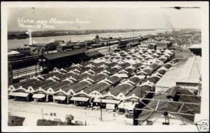 mexico, TAMPICO, Vista del Mercado Nuevo (1930s) RPPC