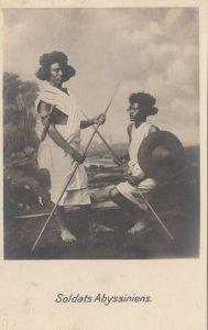 RP: SUDAN , 00-10s; Soldats Abyssiniens