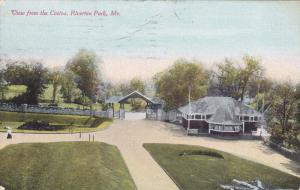 RIVERTON PARK, Maine, PU-1910; View From The Casino