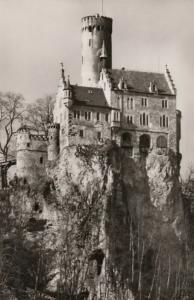 RP: BADEN WURTTENBERG, Germany, 1930-50s: Schloss Lichtenstein