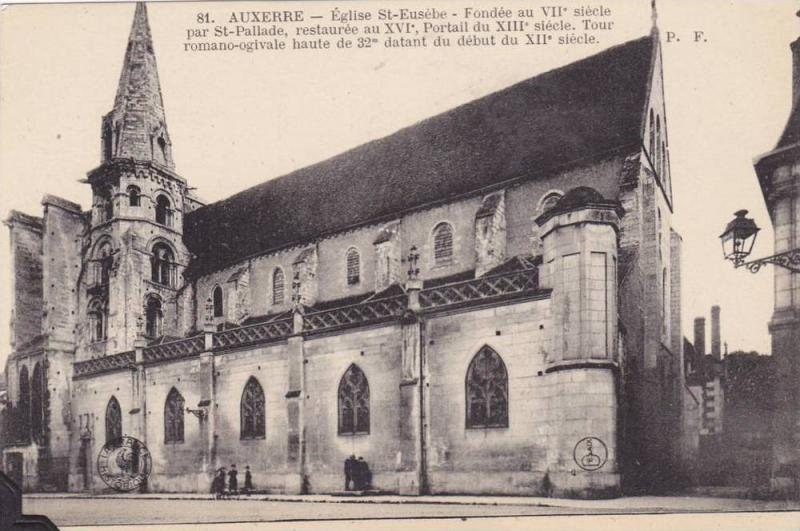 Auxerre , France , 00-10s : Eglise St-Eusebe