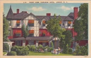 Front View Carlheim Hotel North Carolina