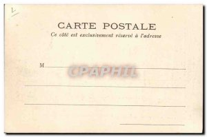 Old Postcard A purse with stamps Carre Marigny to Walk TOP stamps