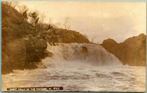 1910s Virginia RPPC Postcard GREAT FALLS OF THE POTOMAC - W.R. Ross Photo
