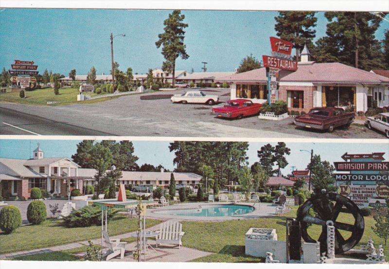 2-Views, Mansion - Park Motor Lodge, Swimming Pool, On U. S. 301, SANTEE, Sou...