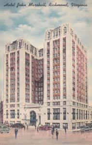 RICHMOND , Virginia , 30-40s; Hotel John Marshall