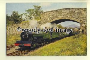 ry984 - Ravenglass & Eskdale Railway Engine - River Irt - postcard