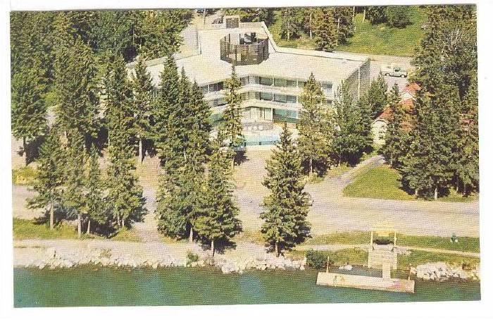 Bow View Motor Lodge, Banff, Alberta, Canada, 40-60s