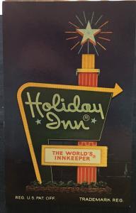 Postcard Unused Holiday Inn Meadville PA LB