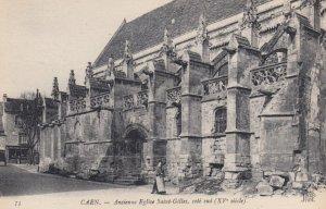 CAEN, France, 1910-1920s, Ancienne Eglise Saint-Gilles, cote sud