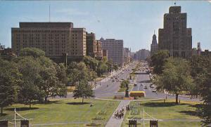University Avenue Looking South, Toronto, Ontario, Canada, PU-1965