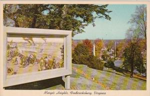 Virginia Fredericksburg Marye's Heights Spotsylvania National Military Park