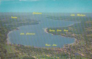 Michigan Boyne City Aerial View Lake Charlevoix