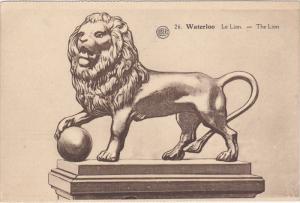 The Lion, WATERLOO (Walloon Brabant), Belgium, 1900-1910s