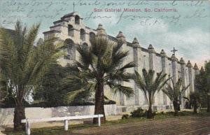 California San Gabriel Mission 1907