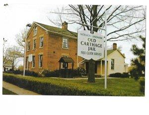 Old Carthage Jail Carthage, Illinois Built 1839 Joseph Smith Mormon Landmark