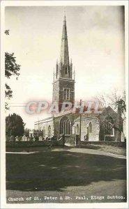 Postcard Modern Church of St Peter St Paul King Sutton