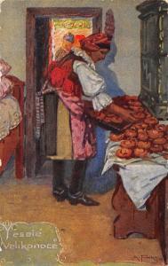 Velikonoce, Z pece dolecky, Tasov na Mor, Slovacku, Antos Frolka