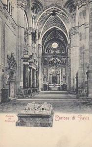 Interior, Navata Del Transept, Certosa Di Pavia, Lombardy, Italy, 1900-1910s