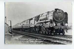 ry1311 - British Railways Engine - no 70010 Owen Glendower - postcard