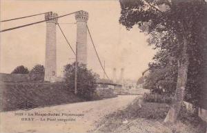 France Gray Le Pont suspendu