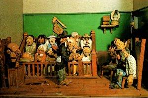 South Dakota Custer Museum Of Western Woodcarvings Court Room