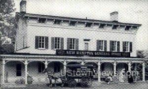 New Hampton General Store in New Hampton, New Jersey