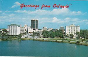Skyline, Lake Lucerne, ORLANDO, Florida, 40-60's