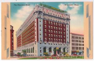 Sheraton Hotel, Worcester MA
