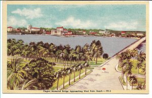 W. Palm Beach, FL - Flagler Memorial Bridge