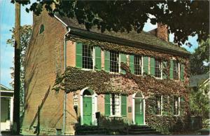 Our House Museum, 434 First Avenue, Gallipolis Ohio - built in 1819 - postcard