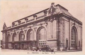 France Troyes La Gare