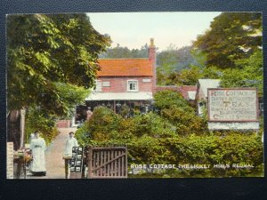 Worcestershire THE LICKEY HILL Rednal ROSE COTTAGE c1906 Postcard by M. Johnson