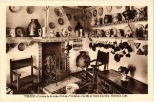 CPA Toledo Cocina de la casa Ochoa SPAIN (743834)