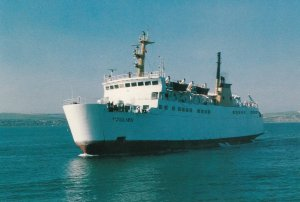 ST JULIEN , Weymouth Maritime Services (chartered) , UK , 1989
